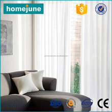2017 new style fashion hot selling white tab top curtains
