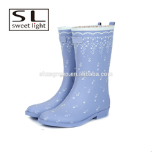 New fashion woman rubber rain boots