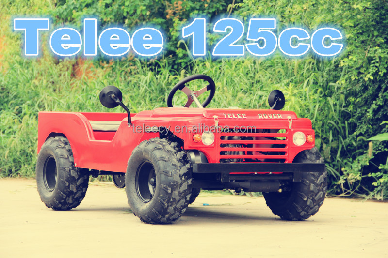 China Zhejiang mini jeep willys new 125cc quads