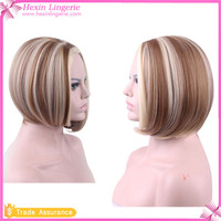 New Fashion Short Natural Wig Human Hair Hhort Bob Lace Front Wig