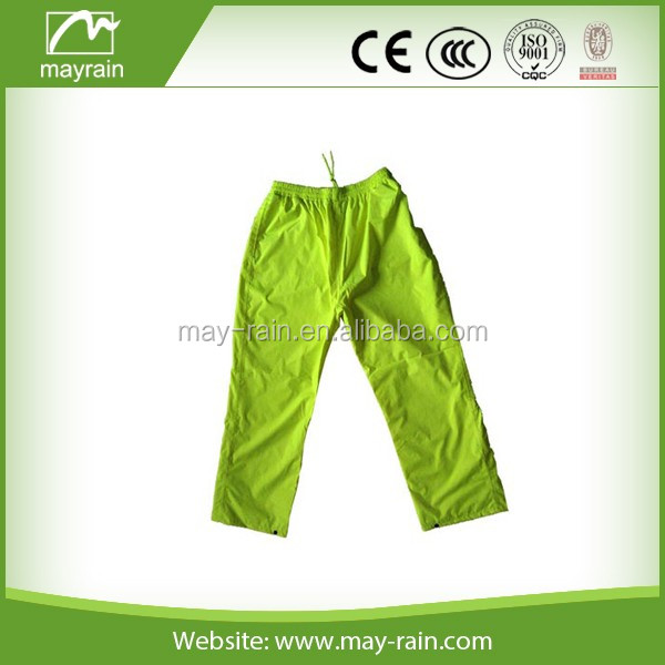 2018 reflective jacket man jacket 100% polyester jacket and pants rain suit