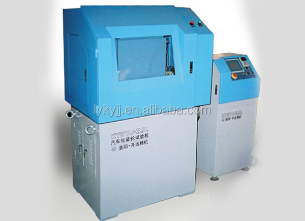 Auto tensioning wheel unit simulation testing machine