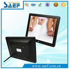 12 inch widescreen digital photo frame LCD advertising machine Support hd video/picture/music playing