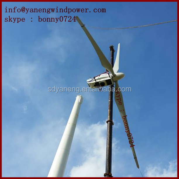 Wind generator price , 50kw 60kw 100kw 200kw wind turbine