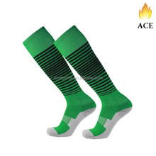 Performance Compression Soccer Socks With Anti Slip Padded