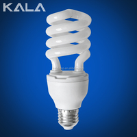 85w Half spiral 220V E27/B22/E14 3000Hour china energy saving lamp or bulb and energie halogen bulb