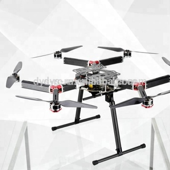 DYS 800MM RC Hexacopter frame/ drone D800-V6 take-off weight 4-10kg with Retractable Landing Gear for larger gimbal and camera