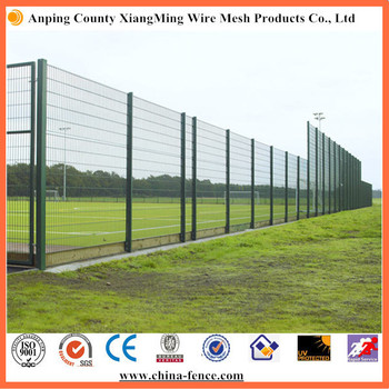 High quality pvc coated 3D wire mesh fence welded garden fence panels