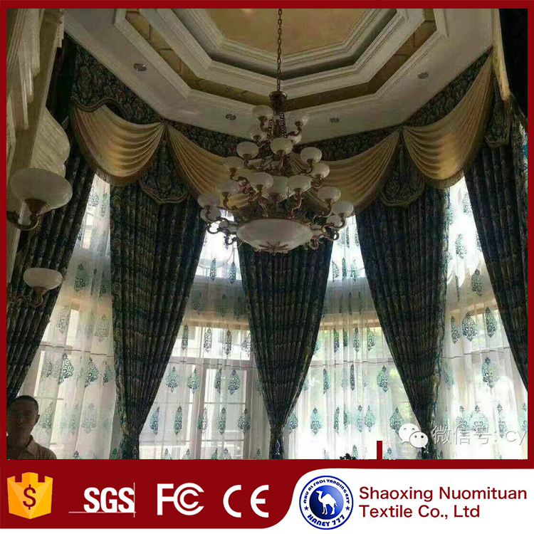 china online shopping curved window treatments lightproof window curtain