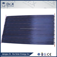 new green energy cheap flat solar collector pipes