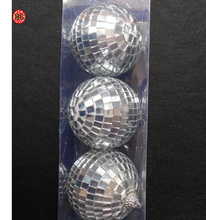 2 inch disco lights mirrored ball ornaments for party decoration