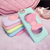 2015 fashion ladies silicone phone case for iphone 6 case for other mobile phone accessory