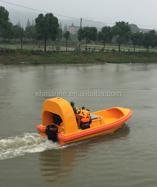 6.5m fast open rescue <strong>boat</strong> with single arm davit cheap price