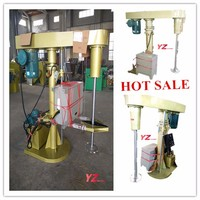 Decorative paint production high speed dissolver mixer machine