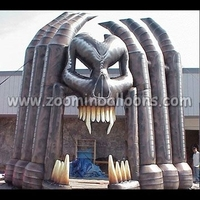 2015 Giant Halloween inflatable archway N4003