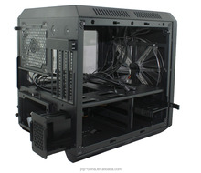 Hot Selling USB3.0 Gaming Design Micro ATX Computer Case with Structure Size305(L)* 265(W)* 280(H)mm and Card Reader