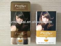 Preffer Hair Colourant Cream Dark Brown & Light Blonde 30mlX2pcs+7ml