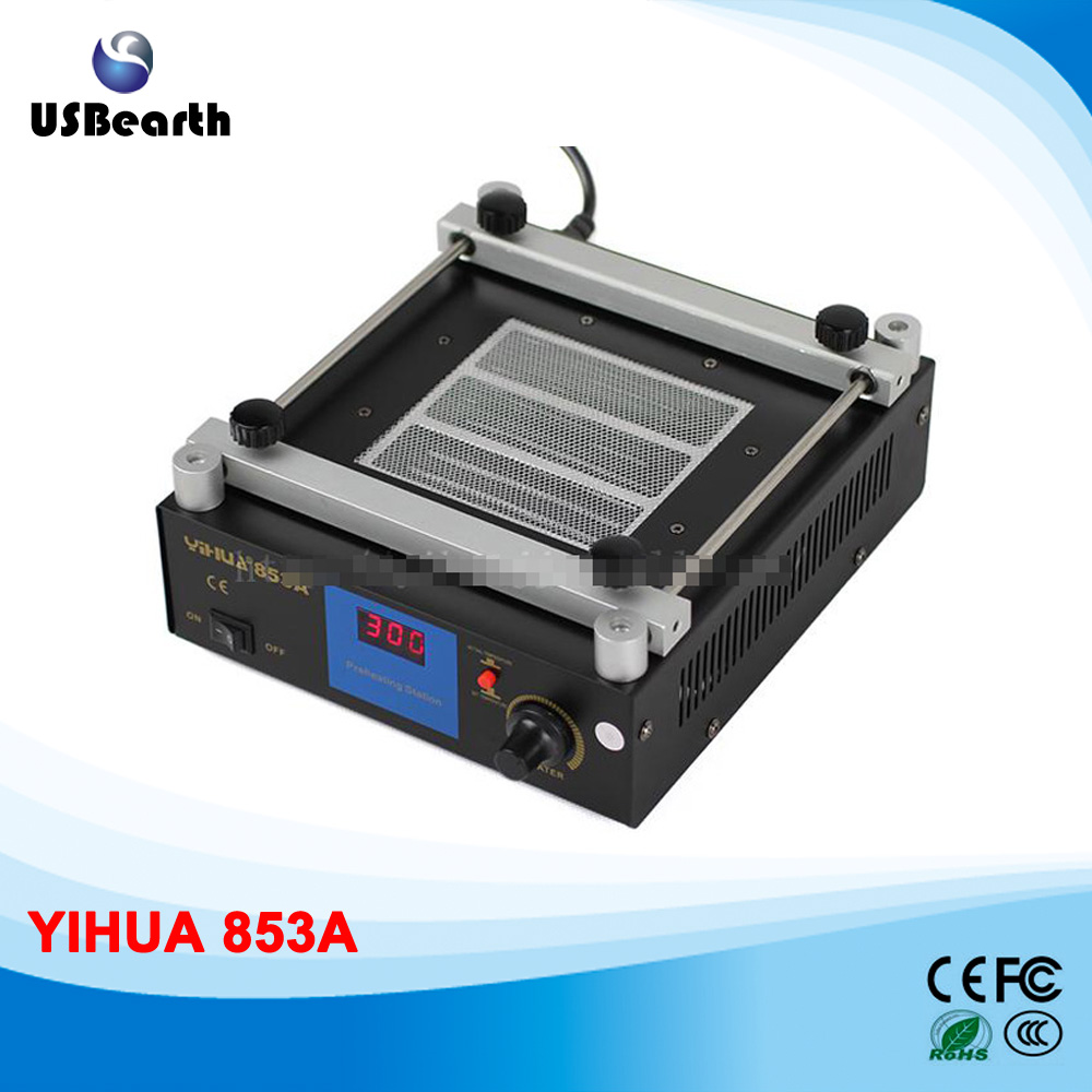 preheat station 6000w infrared heating station, infrared preheater for bga rework / motherboard repair