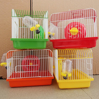Thickening Strong Dog Cage Portable Hamster Villa Cages Pet Crate on Sale