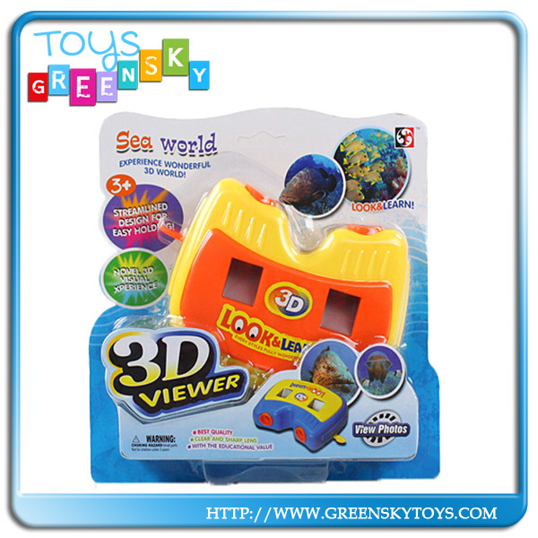 Kid Wonderful Sea World 3D picture Viewer Toy