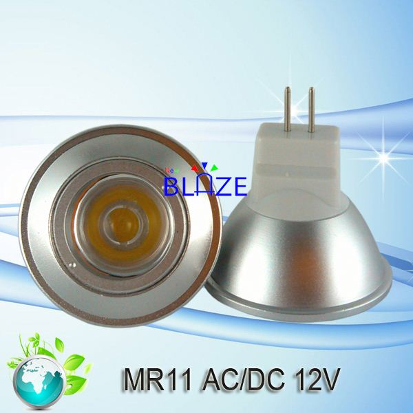 1*3w top selling mr11 led bulb light 5 years warranty
