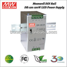 Meanwell DR-120-24 (120W 24V 5A) 120W Single Output Industrial 24v DIN Rail Power Supply
