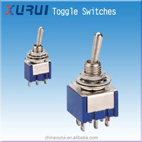 2A 250VAC Toggle switch / 2 position toggle switch / small toggle switch