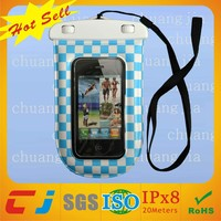 Dongguan factory waterproof custom phone case for htc