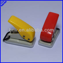 Plastic easy taking small hole punch