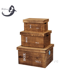 Wood Material and Accept Custom Order bulk wooden boxes