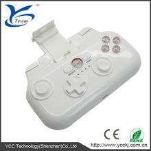 high quality portable keyboard/bluetooth wireless joypad/gamepad/game controller for iPod/iPhone/iPad/android tablet/pc