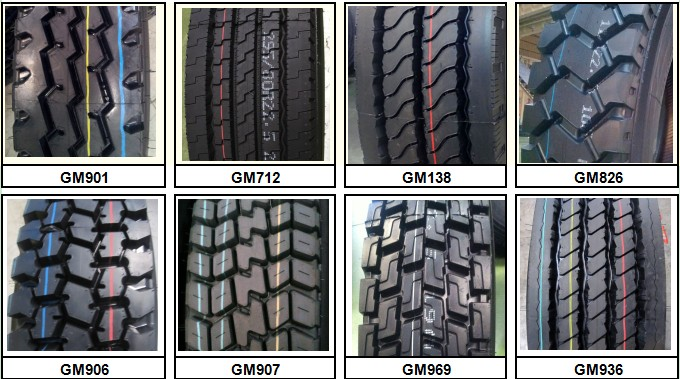 Chinese brand GM ROVER all steel radial truck tire tyre 11R22.5, 11R24.5 and 295/75R22.5 for U.S.A, canada road condition