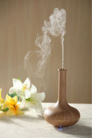Scent aroma diffuser used with herb extract, green tea, protein powder