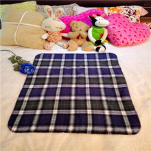 Wholesale Alibaba China organic cotton baby checked throw blanket
