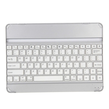 Dropshipping Portable Ultra-Slim Mobile Blue tooth Keyboard for iPad Air / iPad 5