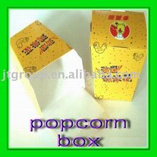 Eco-friendly recycled printing paper popcorn box
