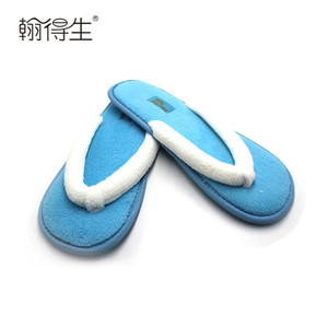 Custom logo disposable spa hotel slippers for ladies