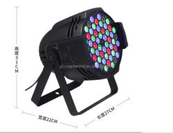 Manufacturer 54pcs led par light rgb all in one 3w led stage par light disco light