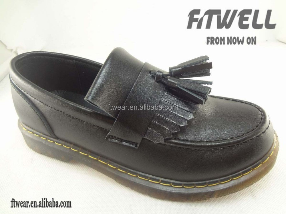 Kids slip-on pu shoes