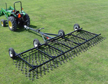 Pasture renovation trailed drag harrows for sale