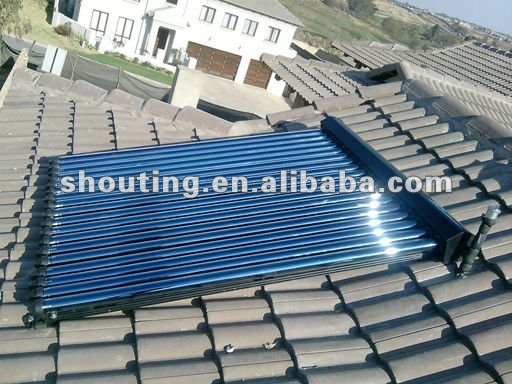 solar water heater concentrator