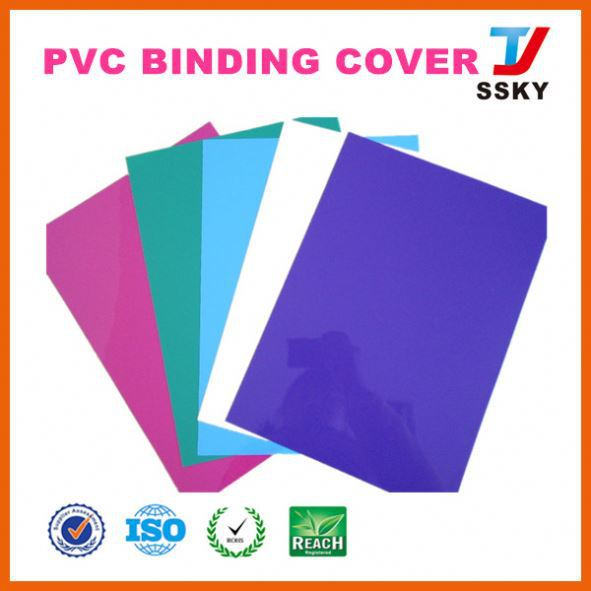China SGS school 2014 note exercise pvc book cover with different colors