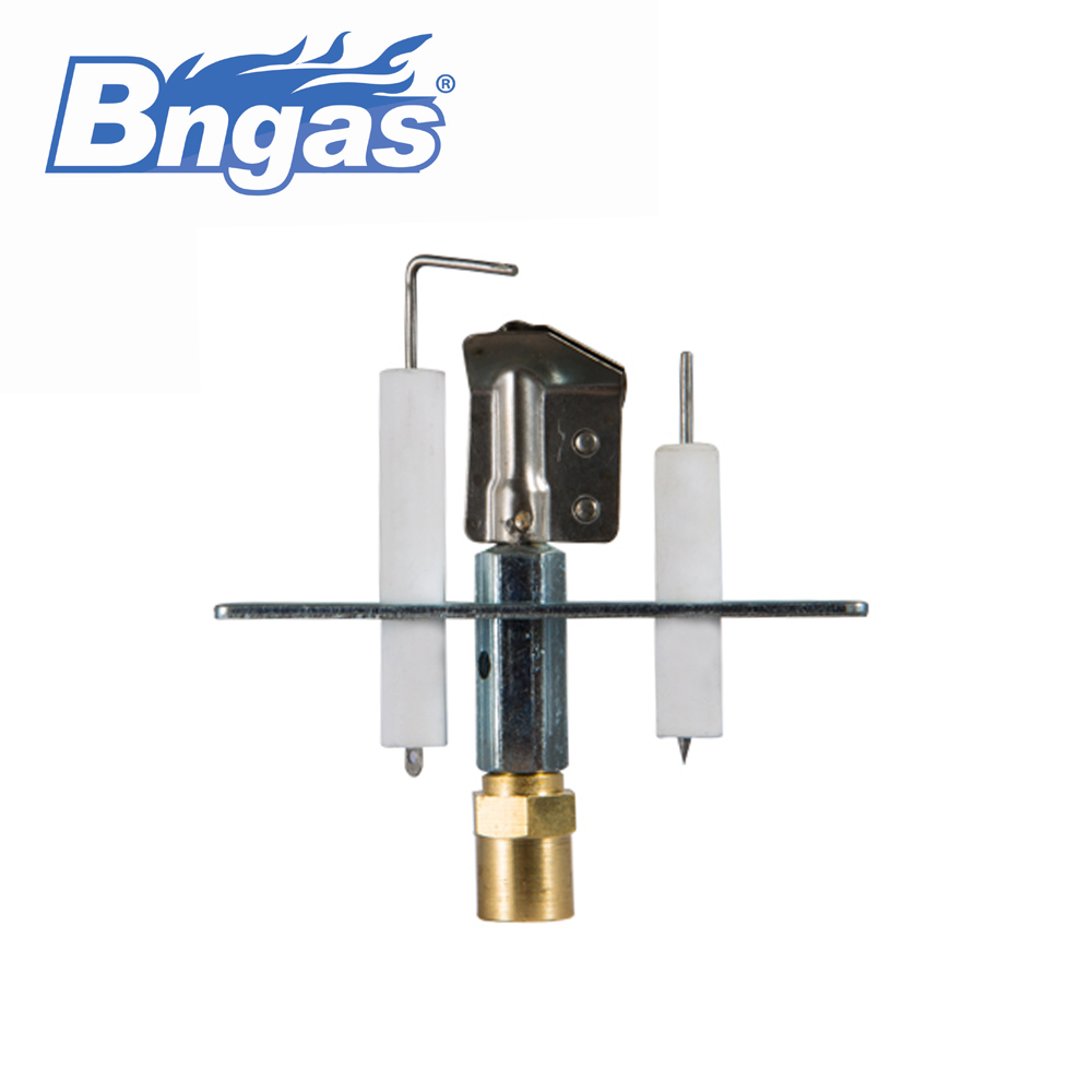 Pilot assembly for gas burner