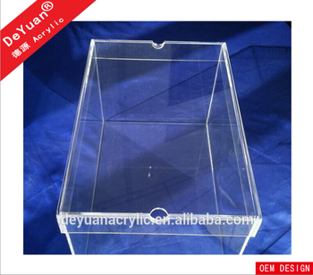 Clear Acrylic Stackable Nike Boxes For Shoes