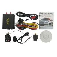 Vehicle gps tracker tk106 with camera & fuel monitoring with remote controller
