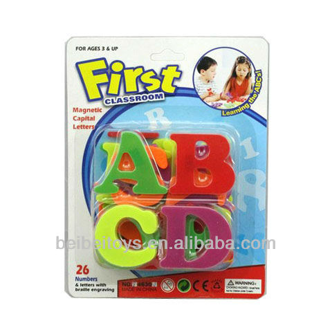 Kids Plastic Magnetic Alphabet Letters Game, Study Letter Games