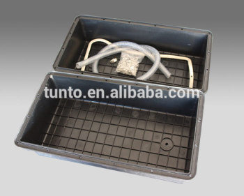 Factory direct plastic inverter solar battery box