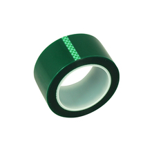 Hot Sale High Temperature Masking PET Green Polyester Tape