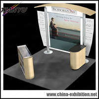 China outdoor advertising exhibition stand design