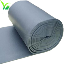 Soft pvc foil polyurethane corrugated roofing rubber foam sheets